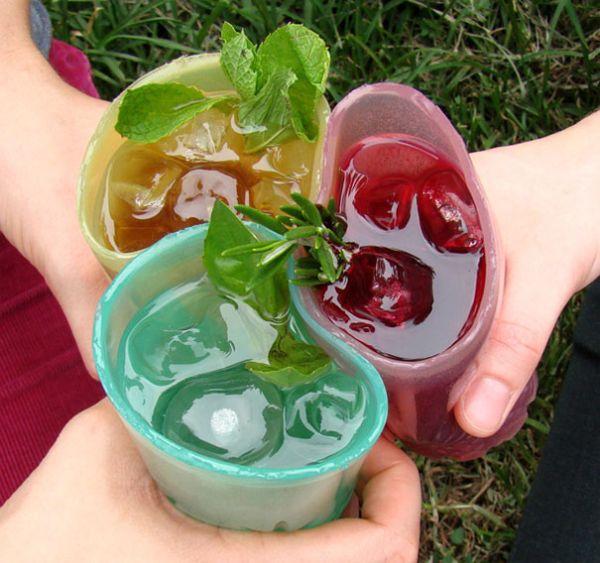 Съедобный стакан (7 фото)