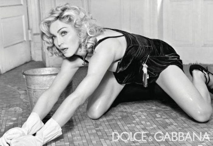 Фотографии Мадонны до и после Фотошопа (13 фото)