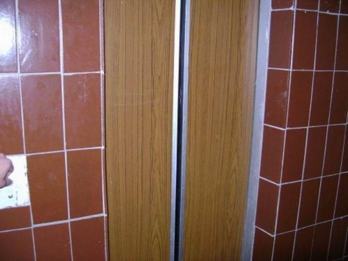 Самый суровый прикол с лифтом (10 фото)