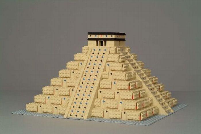 Очень классные фигуры из Lego (50 фото)