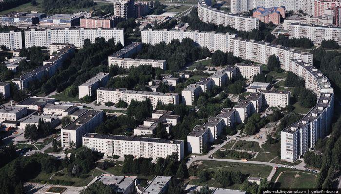 Новосибирск. Вид сверху (78 фото)