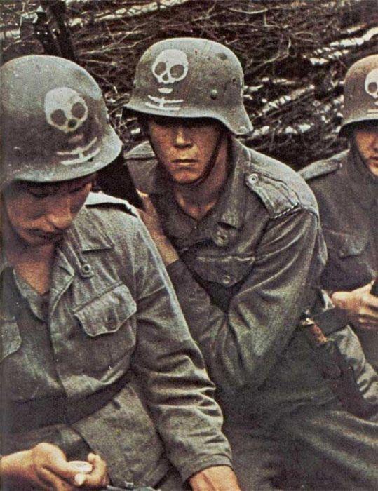 Вторая мировая война в цвете 45 фото
