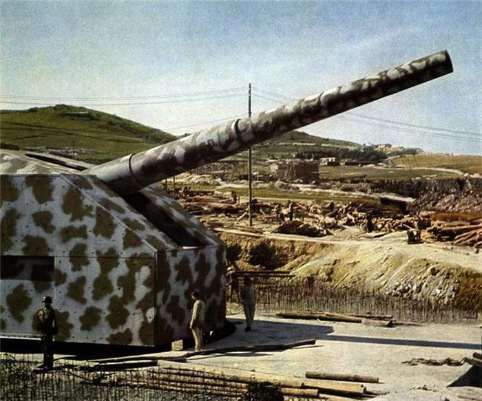 Вторая Мировая война в цвете (45 фото)
