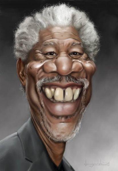 Карикатуры на известных людей (44 фото)