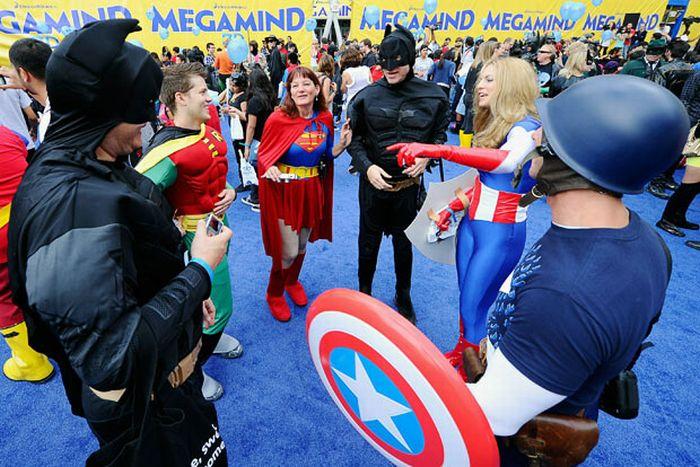 Супергерои для Книги рекордов Гиннесса (20 фото)