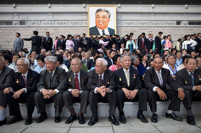 Парад в Северной Корее (43 фото)