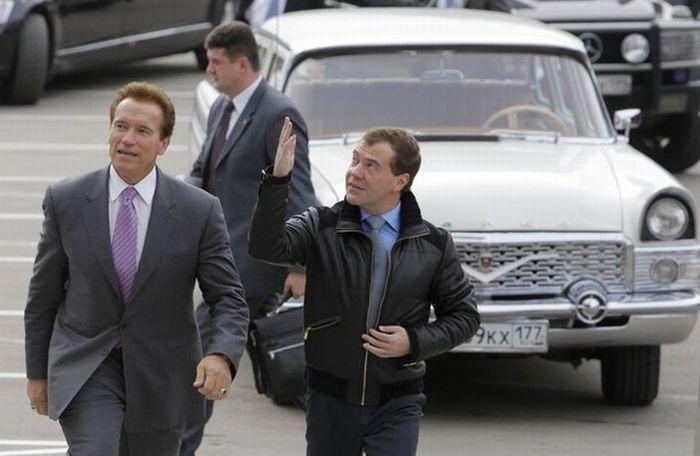 Арнольд Шварценеггер в Москве (14 фото)