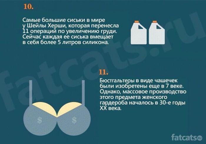 15 фактов про сиськи (10 фото)