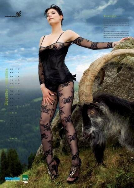 Немецкие фермерши и шведские доярки. Два календаря (24 фото)