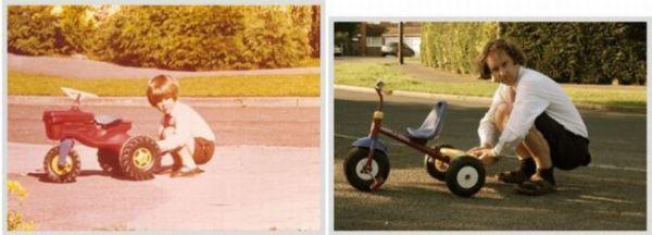 Молодой Я и Я сейчас. Часть 2 (30 фото)