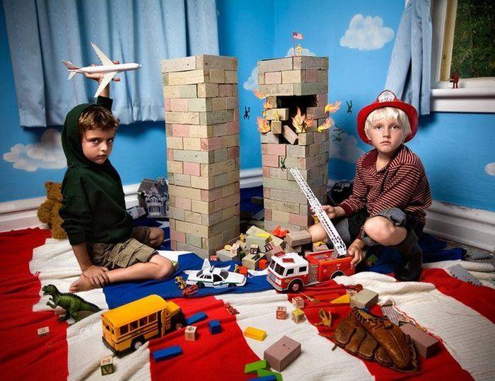 В детской комнате (10 фото)