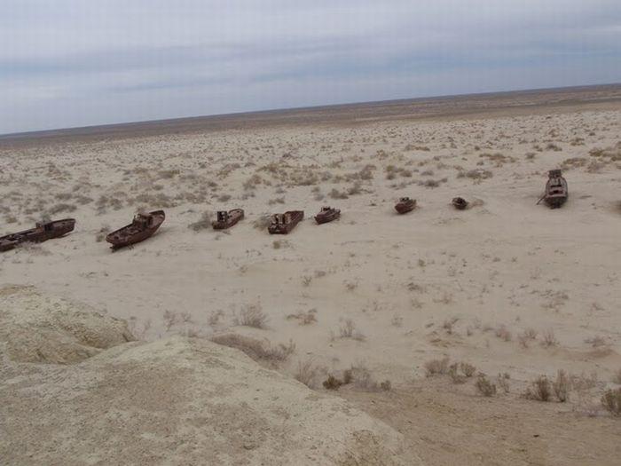 Когда исчезает море (12 фото)