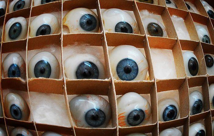Производство глазных протезов (11 фото)