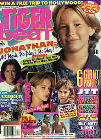 Обложки подростковых журналов 80х и 90х (32 фото)