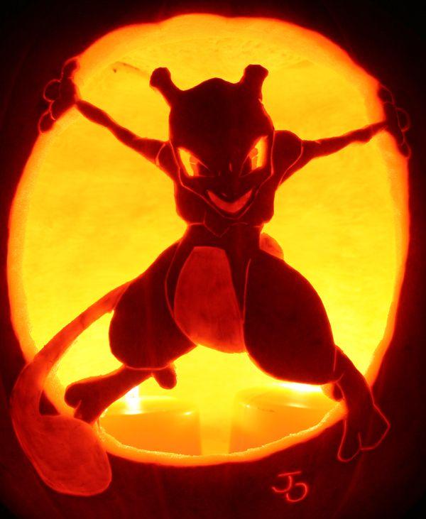 Тыквы-покемоны (23 фото)