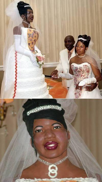 Самые необычные свадебные торты (12 фото)