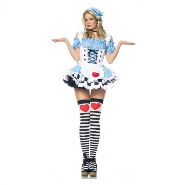 Сексуальные костюмы на Хэллоуин (52 фото)