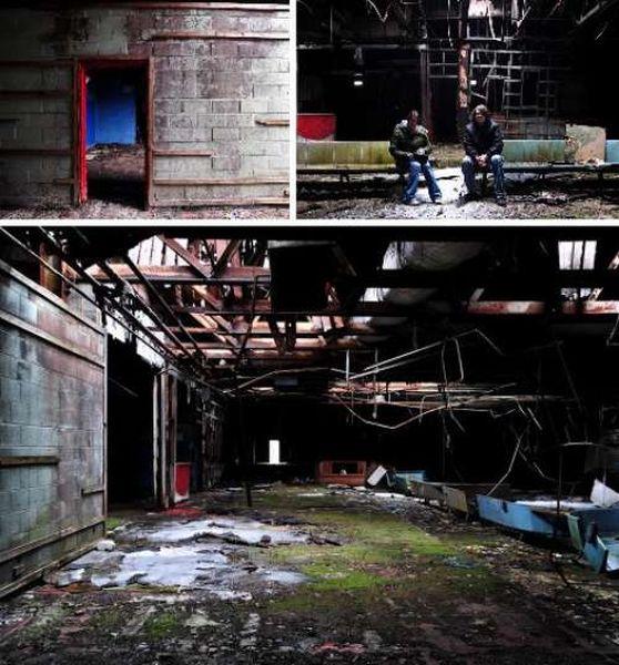 Заброшенные дорожки для боулинга (24 фото)