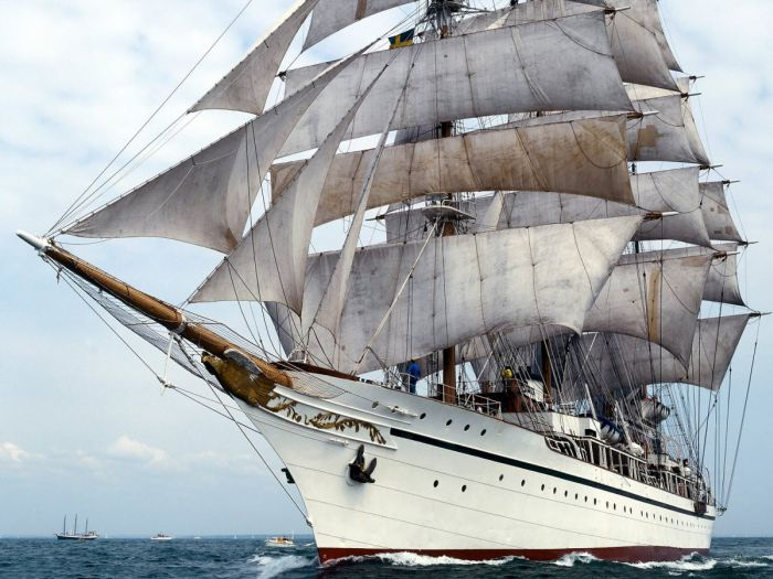 Красивые корабли (31 фото)