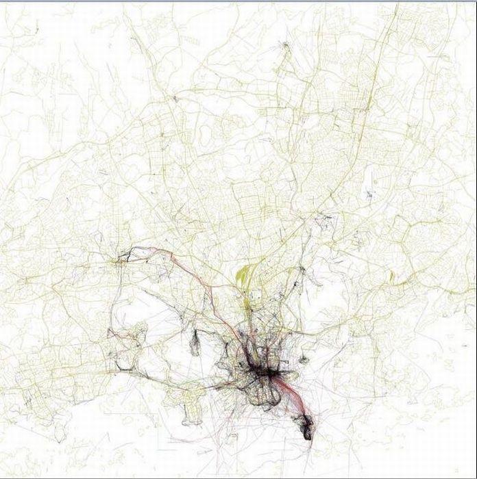 Карты популярности городов (45 фото)