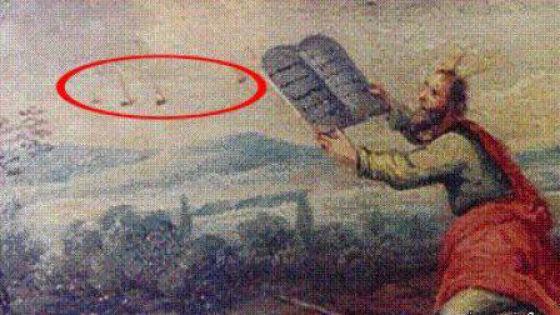Инопланетяне на старых фресках (19 фото)