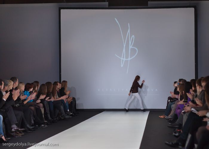 За кулисами Russian Fashion Week (50 фото)