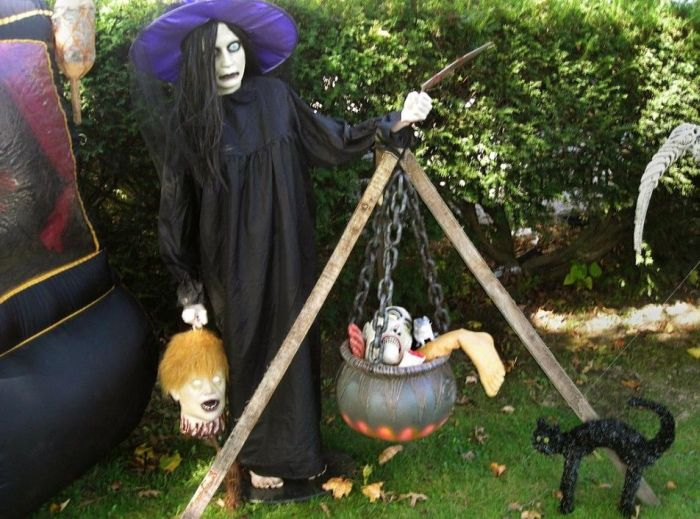 Этот дом готов к Хэллоуину (8 фото)