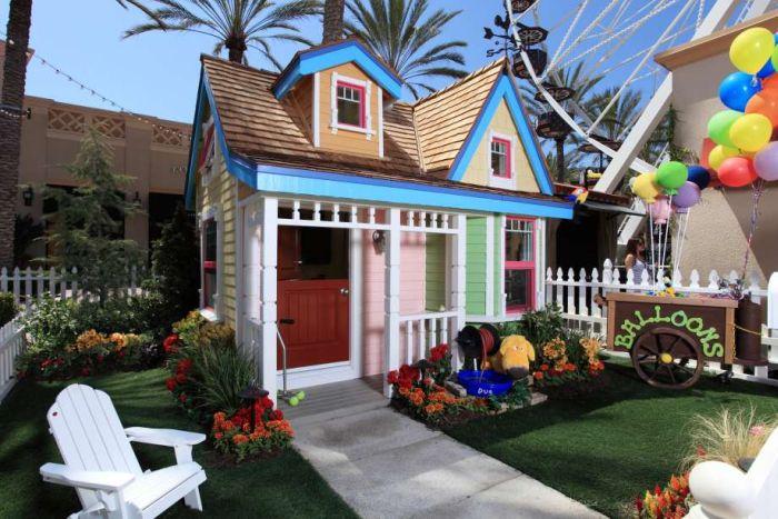 Крутые домики для детей (14 фото)