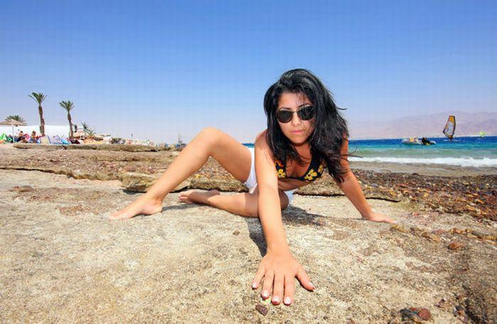 Симпатичные израильские девушки (44 фото)