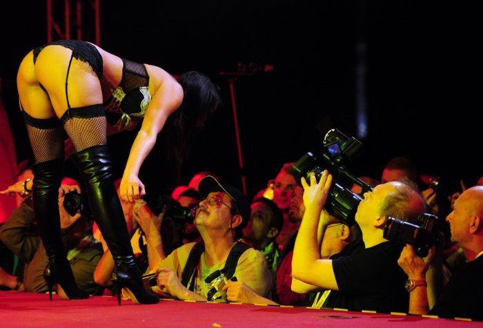Фотографии с берлинской эротической ярмарки Venus 2010 (12 фото) НЮ