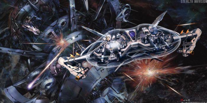 Концептуальные космические корабли (50 фото)