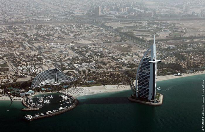 Дубай, вид сверху (8 фото)