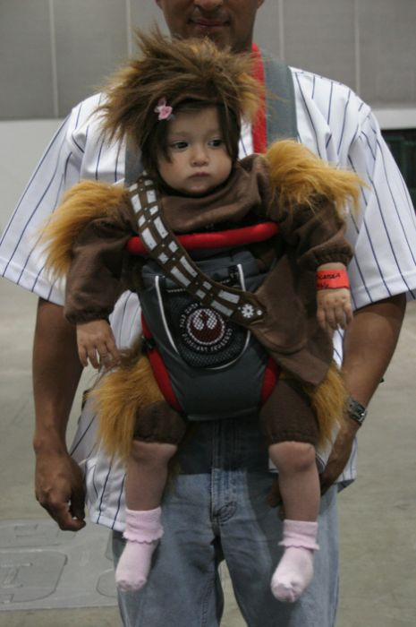 Дети в забавных костюмах (30 фото)