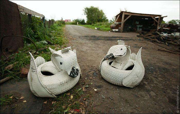 Дом-ковчег в Кемерово (9 фото)