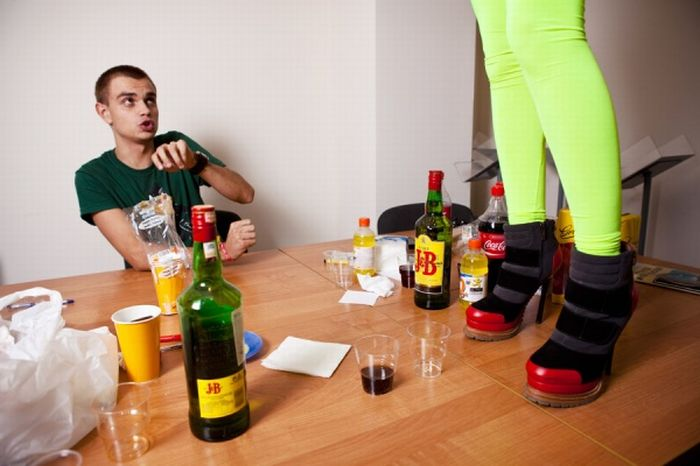Как меняются люди после алкоголя (41 фото)
