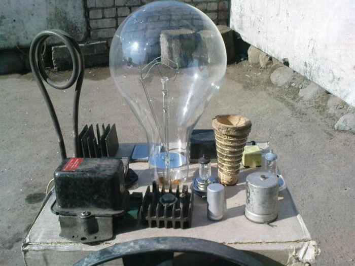 Самодельный ламповый стереоусилитель (7 фото)