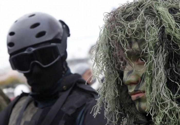 Военный камуфляж (25 фото)