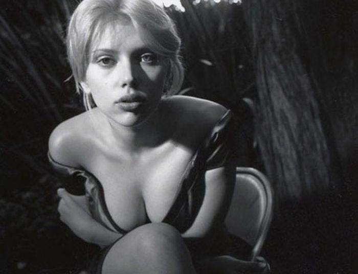 Самые сексуальные фотографии Скарлетт Йоханссон (31 фото)