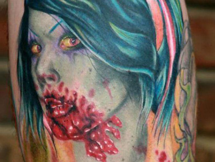 Татуировки зомби (20 фото)