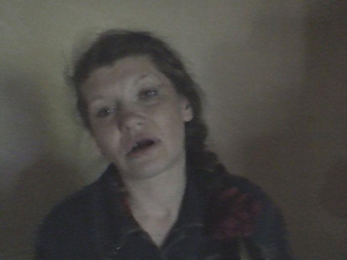 Девушка, уничтоженная наркотиками (8 фото)