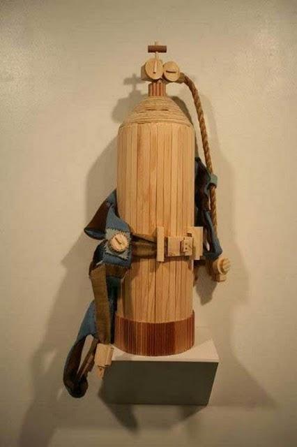 Классные скульптуры из дерева (20 фото)