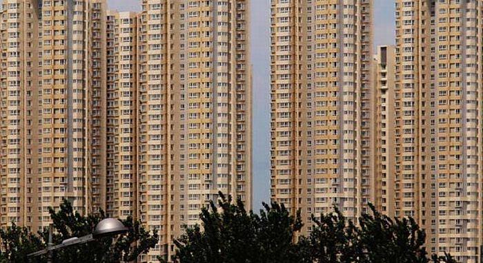 Китайский жилой комплекс (10 фото)