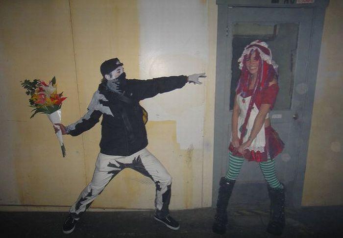 Человек граффити (10 фото)