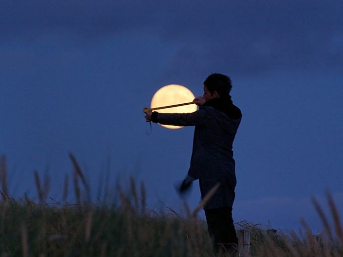 Игры с луной (16 фото)