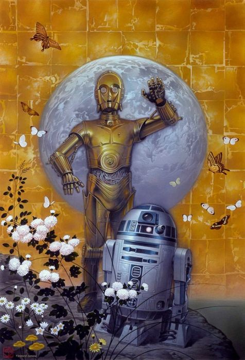 """Красивые рисунки """"Звездные войны"""" (15 фото)"""