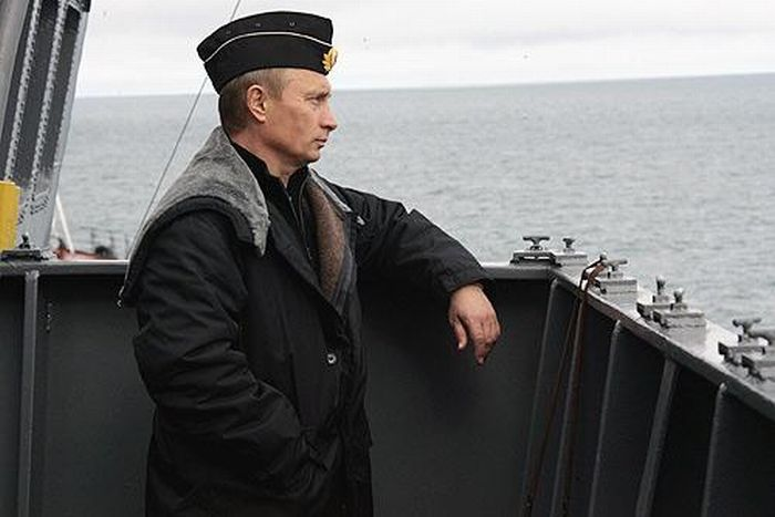 На чем катается Путин (18 фото)