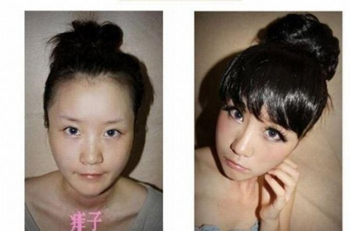Искусство макияжа (35 фото)