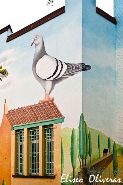 Рисунки на стенах (29 фото)
