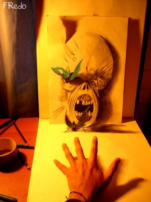 Потрясающие 3D рисунки (16 фото)