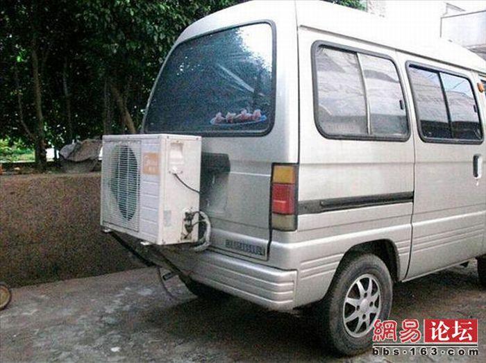 Необычный кондиционер для машины (7 фото)